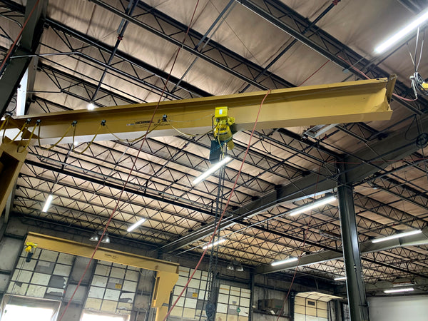 Gorbel Full CANTILEVER JIB Crane - 2 Ton, Span 10 FT, OAH 10 FT - Two Available (package discount)