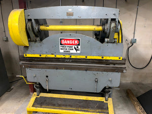 Chicago 15 Ton x 6ft. Mechanical Press Brake