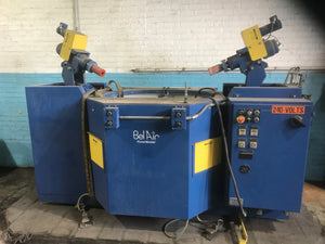 ALMCO 2SF-48 Finishing Machine, 2005 - Dual Spindle Deburring Station