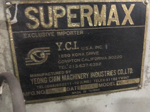 Supermax Vertical Mill