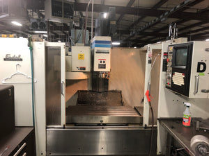 Fadal VMC 4020HT, 1995 - Under Power, 10k RPM Spindle, Video