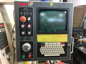 Fadal VMC 4525VHT, 2000 - 10k RPM, Under Power, Video, High Torque