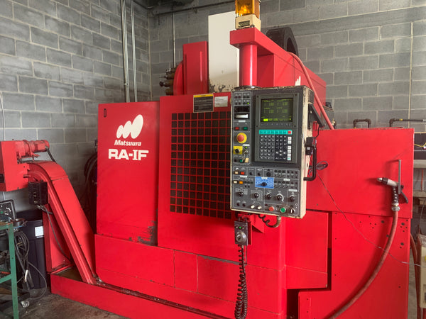 Matsura RA-1F VMC, 1995 - Tooling Included + Chip Conveyor