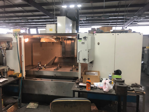 Fadal VMC 6030HT, 1998 - High Torque, Under Power, Video, 10k RPM Spindle