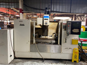 Fadal 4020 VMC, 1997 - Wired for 4th Axis!