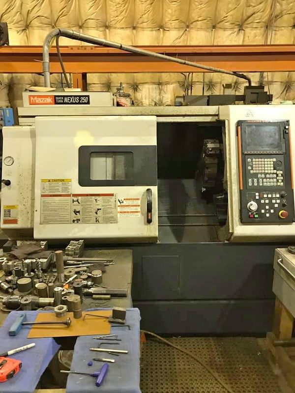2005 Mazak Nexus QT250 - Full Set of Tooling Included - Low Hours - Tight Tolerance