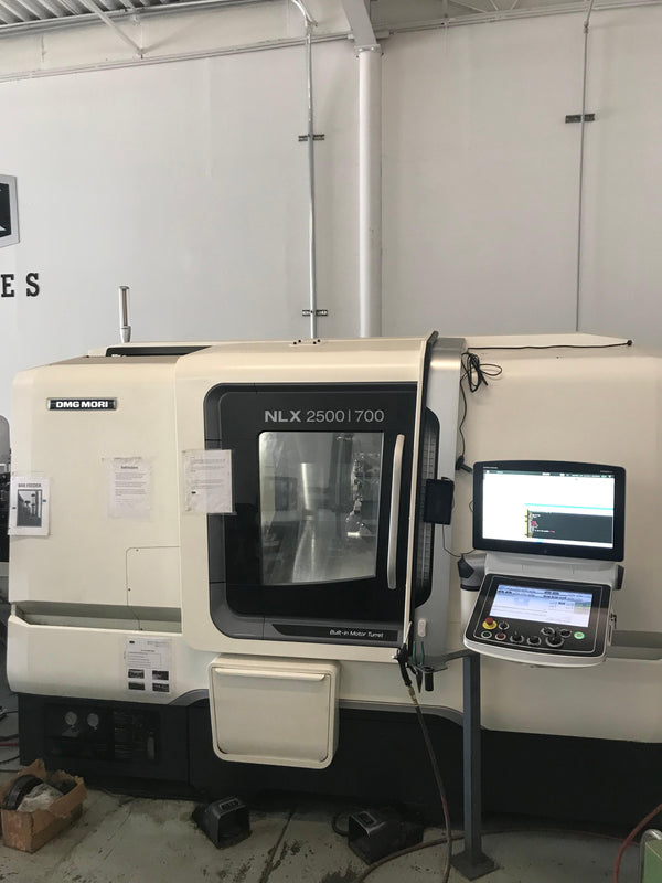 DMG Mori NLX2500SY/700 CNC Lathe, 2018- Sub Spindle, Live Tooling, Chip Conveyor, Under Power, Video