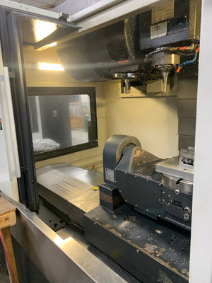 Leadwell v40iT 5 Axis VMC 2014 - Integrated Trunnion, Low Hours, Video