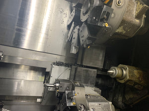 Okuma LR15 CNC Turning Center W/FMB 12' Barfeeder