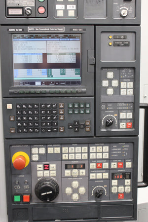 Mori Seiki ZT1000Y, CNC Lathe 2003, Twin Turret + Twin Spindle + Y-axis