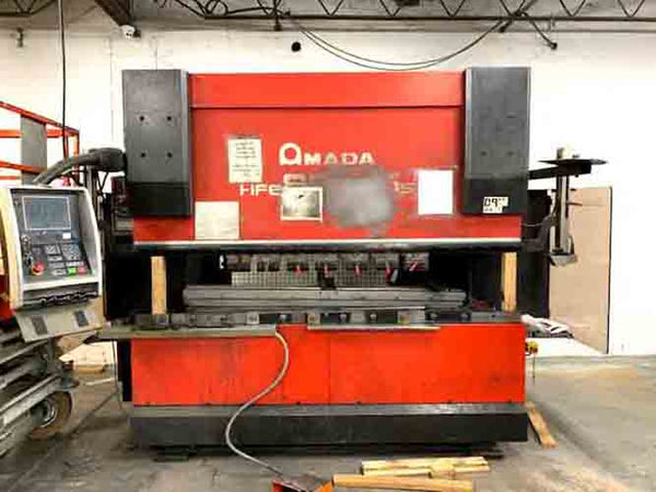 2006 Amada 88 ton x 8' Model HFE 8025 Press Brake w/4 Axis Back Gauge