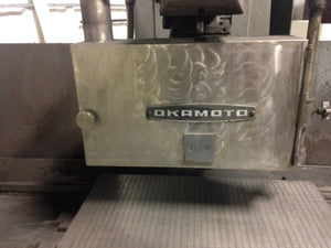 "Okamoto Surface Grinder ACCUGAR-124,1995- N 12"" X 24"", Wheel Speed 1,800 RPM"