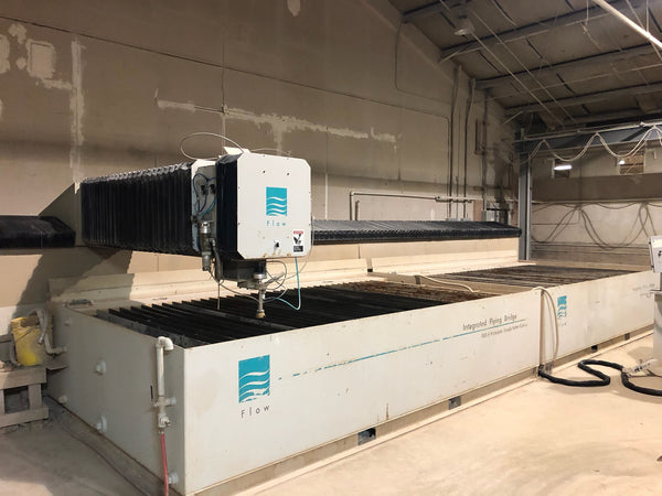 2006 Flow I-6024 6'x24' Waterjet