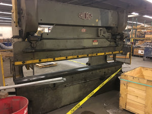 10' x 14 gauge Chicago Press Brake