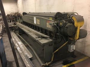 Cincinnati 10 Gauge x 12Ft Shear, Model 1012
