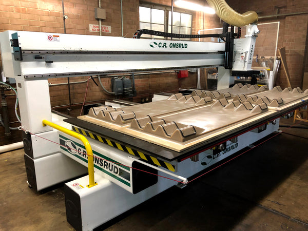 "2007 C.R. Onsrud CNC Router 146C18/ Table size 154"" x 63"""