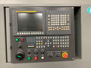 "DMC DL22LB CNC Lathe, 2018 - With Fanuc Control, 10"" Chuck, Never Used"