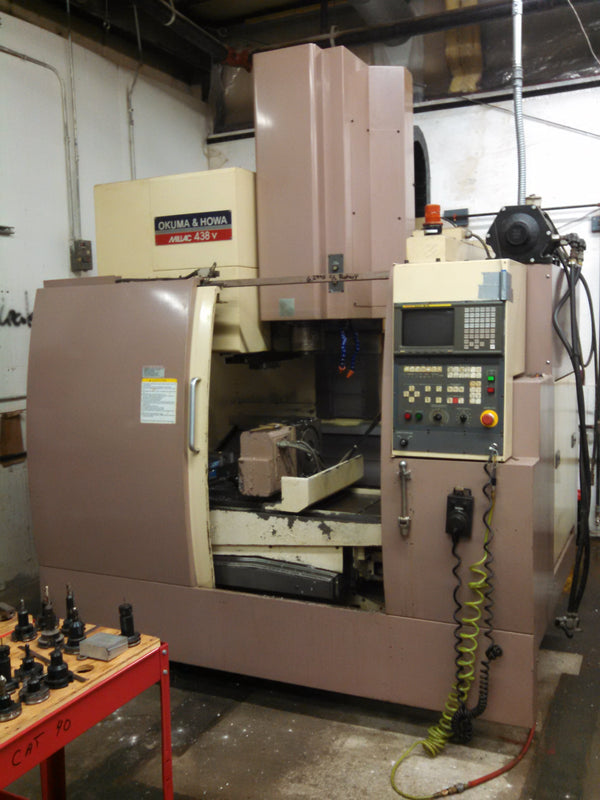 1988 Okuma Howa Millac 438v Vertical Machining Center