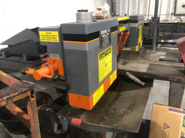 "12.75"" x 12.75"" HEM H90A-4 Horizontal Band Saw, 2009"