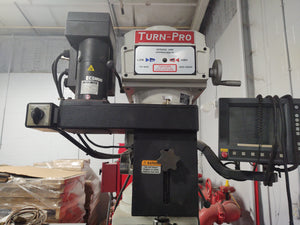 Turn-Pro, GS18V Knee Mill, CNC with Acu-Rite Control