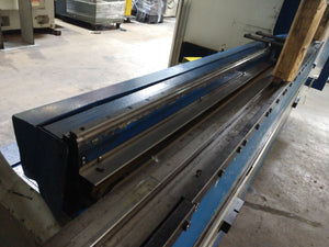 132 Ton x 10' Trumpf  3120 Trubend CNC Press Brake, 2007 - Crowning, 4 Axis, w/Tooling