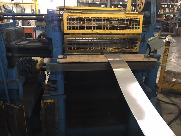 "Hallden 28"" Synchronized Guillotine Flying Shear, Type 52 - Electronic Balder Drives"