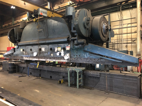1500 Ton x 30' Cincinnati 50 Series Press Brake, 1958