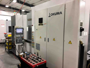 2012 Okuma MB-5000H CNC Horizontal Machining Center