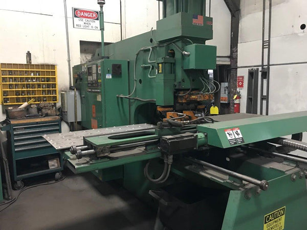 170 Ton Peddinghaus Plate Duplicator F1170/B Single End CNC Punch, 2002