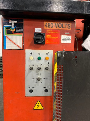 88 Ton x 8' Amada HFB0 8025 CNC Press Brake, 1998 - Tooling Included