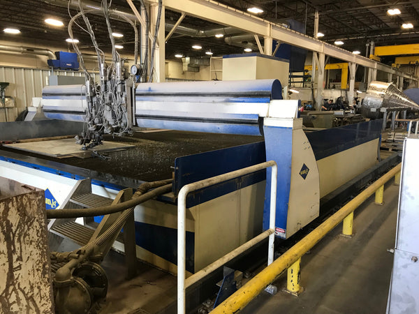 WardJet R-2014 20' x 14' Waterjet, 2012 - 150HP, 60,000 PSI