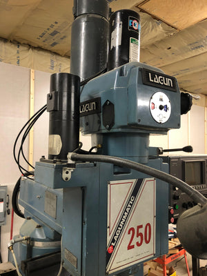 Lagun Lagunmatic 250 Vertical Mill, 1995 - Equipped with Lagunmatic 1000 Dinapath Delta CNC Control