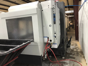 Haas VF-6SS 5 Axis VMC, 2018- TR-210 Trunnion, TSC, WIPS, Video, Under Power
