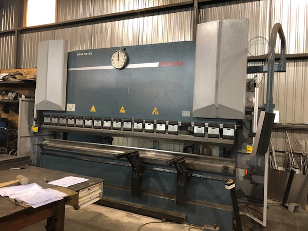 192 Ton x 12' Durma AD-R 37175 Press Brake, 2014