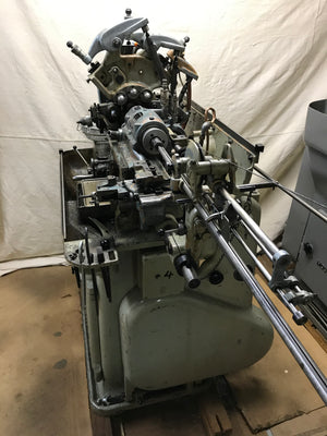 Bechler AS-10 Swiss Screw Machine, 1968- 3 Spindle Drilling Attachment