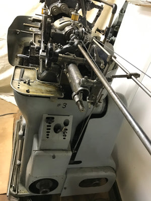 Tornos M-7 Swiss Screw Machine, 1960's - Spindle Drilling Attachment