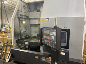 Okuma V100R VTL, 2014 - Chip Conveyor, Mist Collector