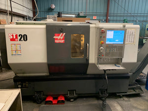 HAAS ST-20 CNC LATHE, 2012 - CHIP CONV., TAILSTOCK, TOOL PRESETTER