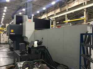 "Vision Wide NF-5223 Double Column Machining Center, 2016 - Fanuc Oi-MF, Table: 80.71"" x 196.9"""