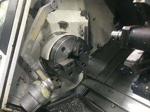 Mazak Quick Turn Nexus 350M CNC Lathe, 2005 - Tailstock, Chip Conveyor