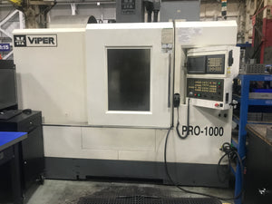 Mighty Viper Pro 1000AG VMC, 2009 - 4th Axis, Chip Conveyor