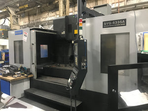 Sharp SVG-6335A VMC, 2012- 40 Station ATC, Fanuc Oi-MD