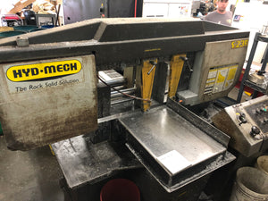 "Hyd-Mech S-23A Automatic Horizontal Bandsaw, 2004 - 16"" Round Cutting Capacity"