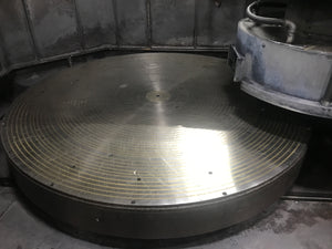 "60"" Mattison Model 60 Rotary Surface Grinder,1963- 84"" Electromagnetic Chuck"