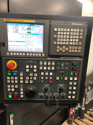 2012 Doosan Puma 3100 XLY CNC Turning Center Lathe