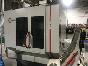 Hermle C40U 5 Axis VMC, 2004 - Chip Conveyor