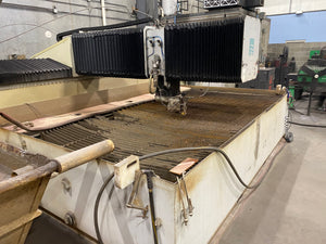 6' x 12' Flow I6012 Flying Bridge Waterjet, 2008 - 60,000 PSI