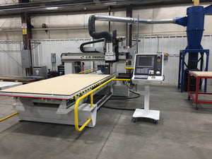 Onsrud 122S18 CNC Router, 2017 - 24k RPM, 12 Position Tool Changer, Dust Collection