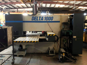 2000 LVD Strippit Turret Punch Delta 1000 TK, Video Available, Under power