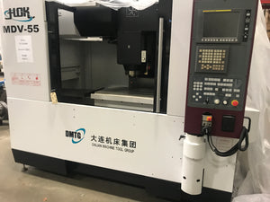 DMTG MDV-55 CNC Vertical Machining Center, 2016 - Fanuc oi-MD Control